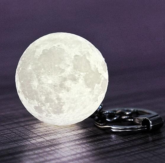 月球燈鎖匙扣