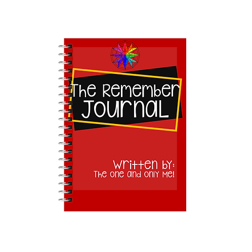The Remember Journal (Printable Version)