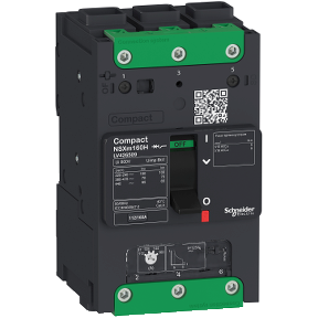 125A | 3P | 25kA | 380/415V IEC |  B-NSXm מפסק יצוק