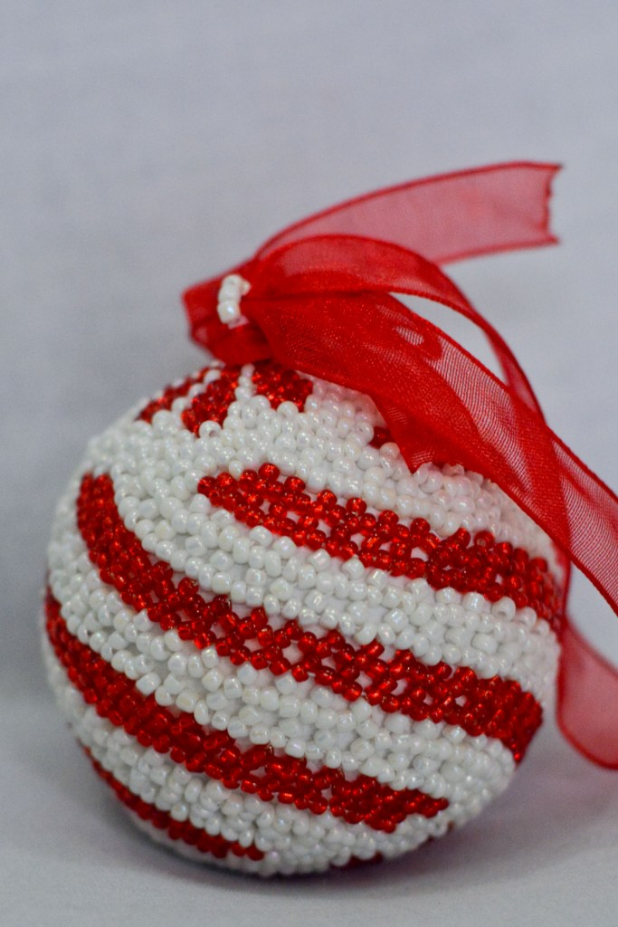 Swirl Red & White