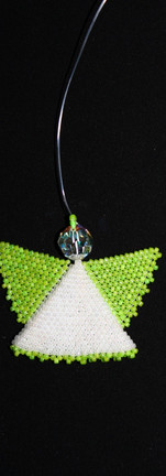 Lime Green Angel