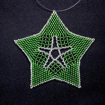Starfish Outline Green