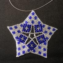 Starfish Dots Blue