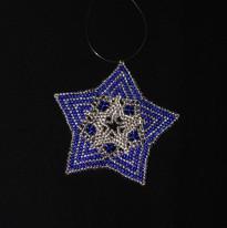 Star Full Zebra Blue