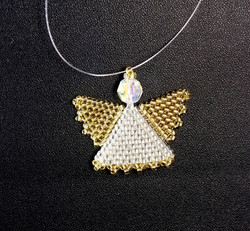 Small Gold Angel
