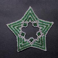Star Regular Zebra Green