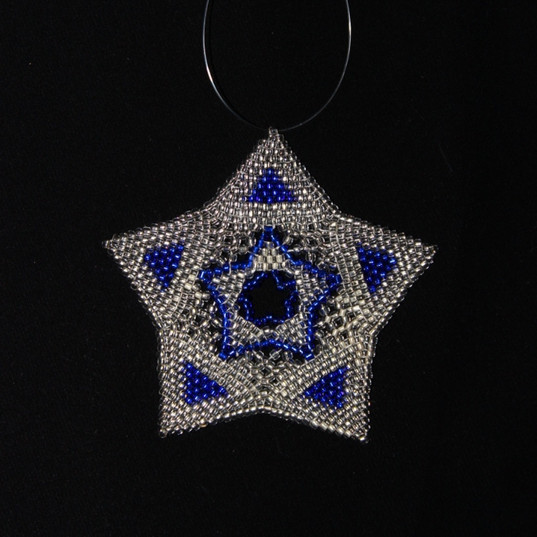 Star Full Triangle Blue