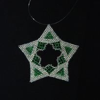 Star Regular Triangle Silver/Green