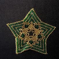 Star Full Zebra Green