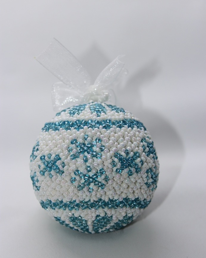 Aqua Snowflake Inverse