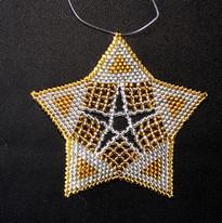 Starfish Triangle Silver/Gold