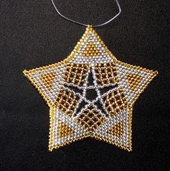 Starfish Triangle Silver/Gold