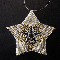Starfish Dots Silver/Gold