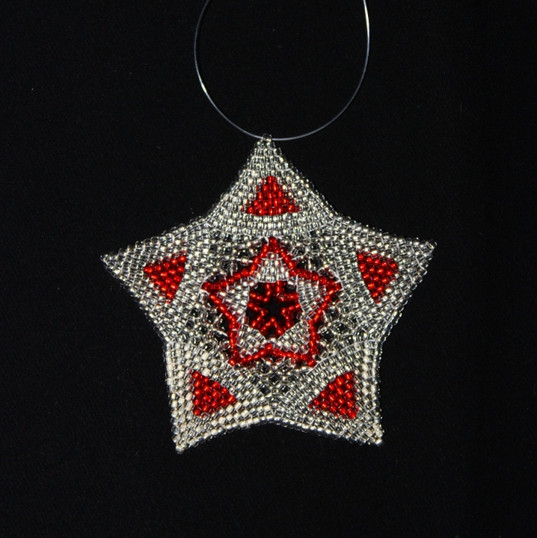 Star Full Triangle Red