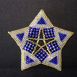 Starfish Triangle Blue