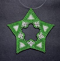Star Regular Triangle Green/Silver