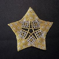 Starfish Dots Gold/Silver