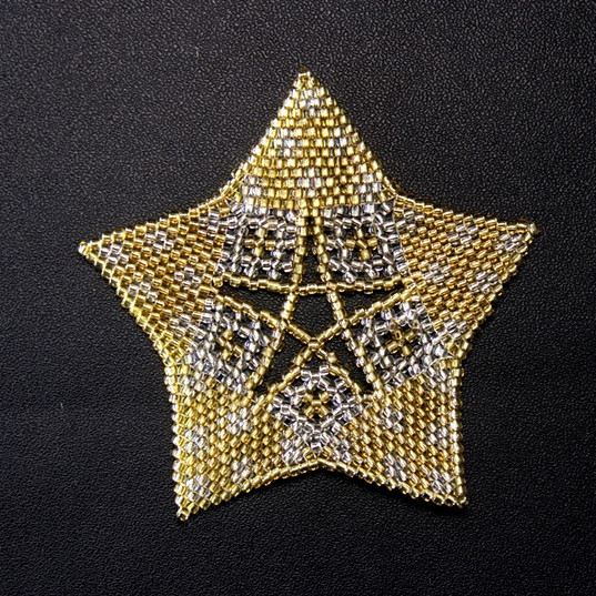 Starfish Dots Gold/Silver