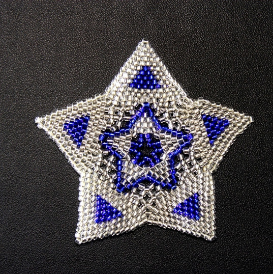 Star Full Triangle Blue