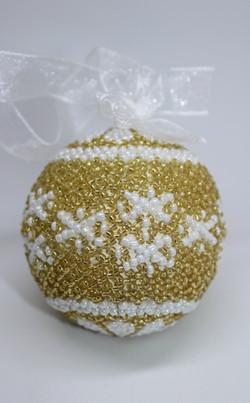 24 K Gold Snowflakes