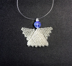 Small Silver Angel