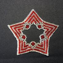 Star Regular Zebra Red