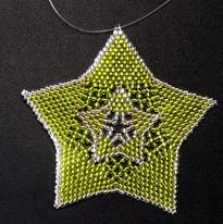 Star Full Outline Lime