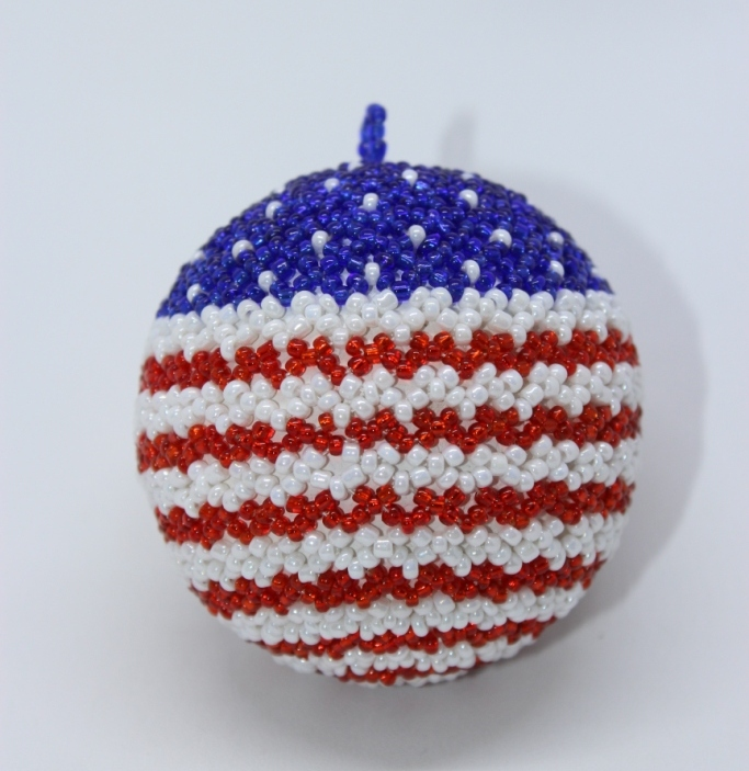 USA Flag Ball