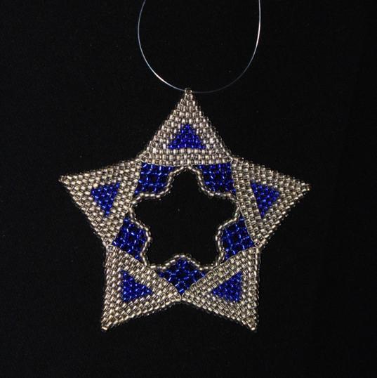 Star Regular Triangle Blue