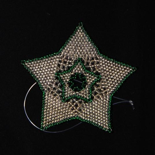 Star Full Outline Green