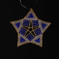 Starfish Triangle Blue