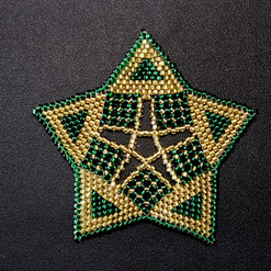 Starfish Triangle Green