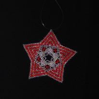 Star Full Zebra Red