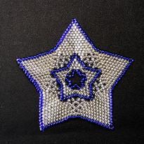 Star Full Outline Blue
