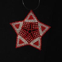 Starfish Triangle Red