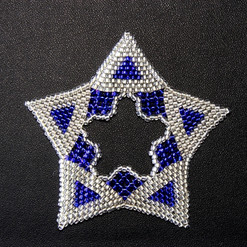 Star Regular Triangle Blue