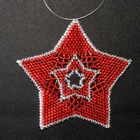 Star Full Outline Red