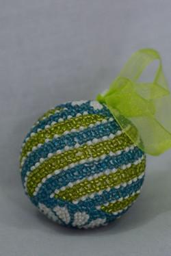 Lime & Aqua Swirl