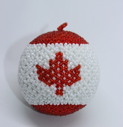 Canada Flag Ball