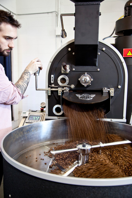 We spoke with Ben Rugg, the man behind your Pallet coffee