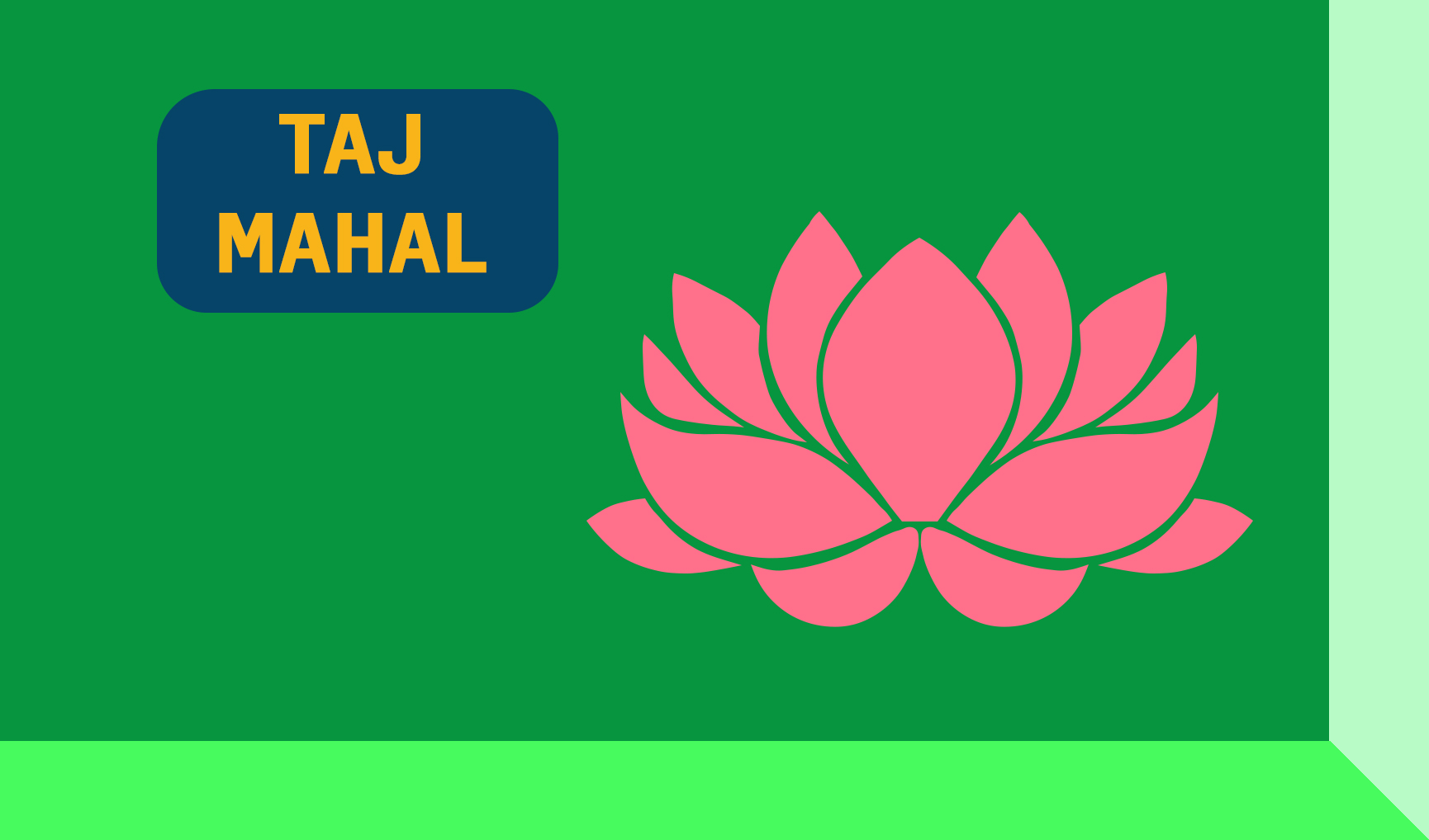 Taj Mahal Keybox Graphic