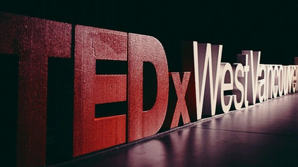 Pallet supporting TEDxWestVancouver ED