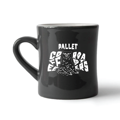 Pallet Diner Mug - Coffee Space Bear