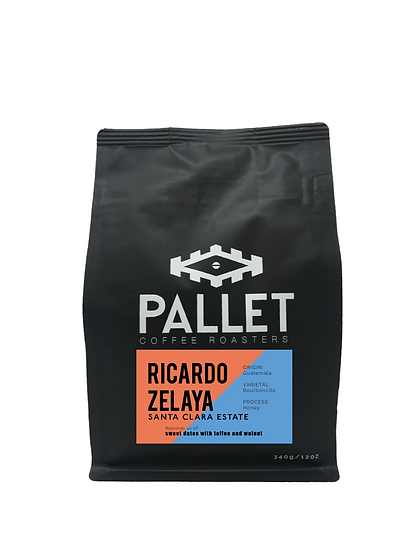 Ricardo Zelaya: Santa Clara Estate, Honey - Guatemala - 340g or 5lb