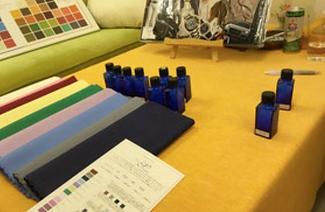 カラー診断,スカーフ,色相環