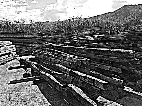 Altholz alte Holzbalken