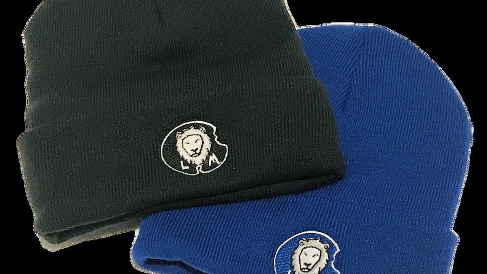 Fleece-lined cuff beanie hat