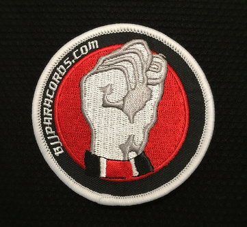 BJJParacords Small Embroidered Gi Patch