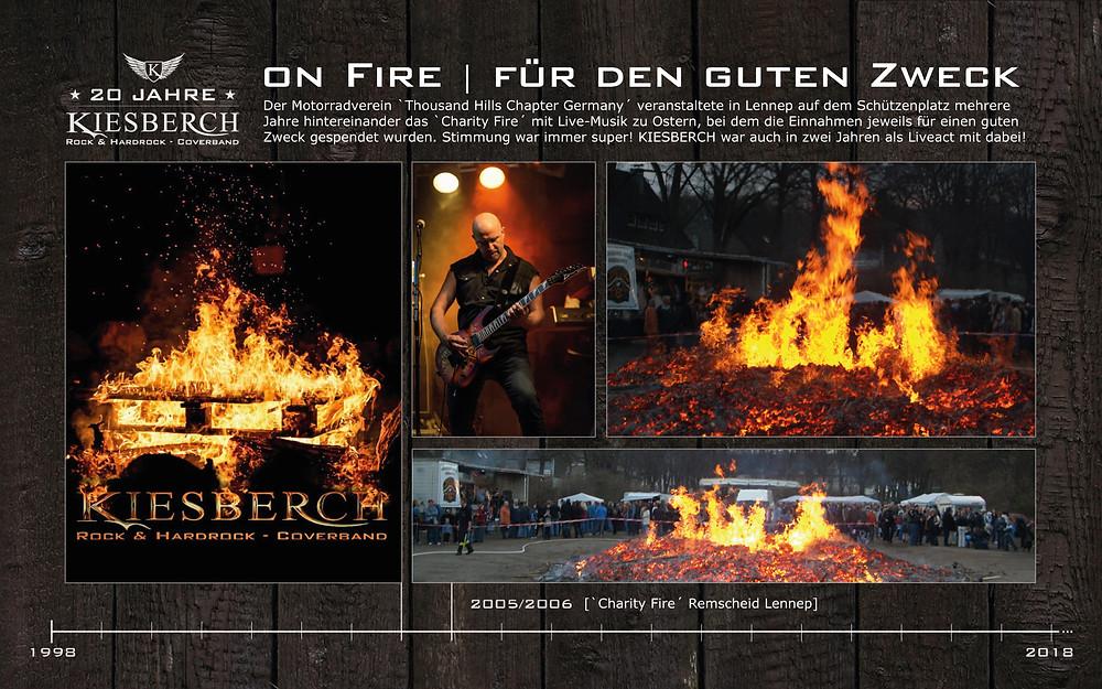 KIESBERCH | ON FIRE - für den guten Zweck
