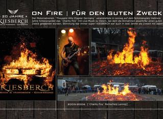 ON FIRE - für den guten Zweck
